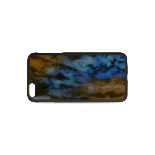 Background_cloud 3 phonecase Rubber Case for iPhone 6/6s Plus