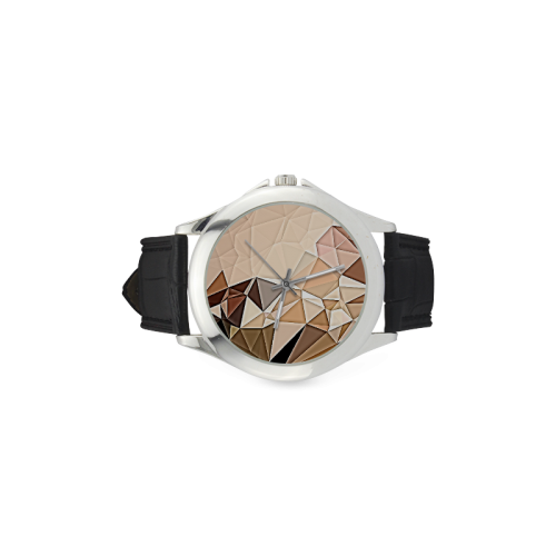 Because it Broke Watch Women's Classic Leather Strap Watch(Model 203)