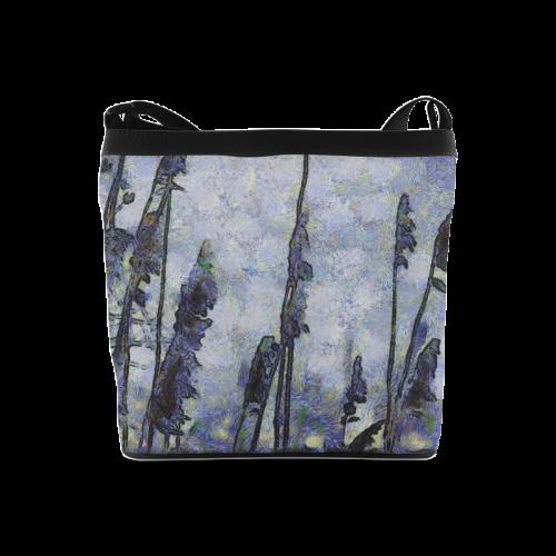 Blue Reed Bag Crossbody Bags (Model 1613)