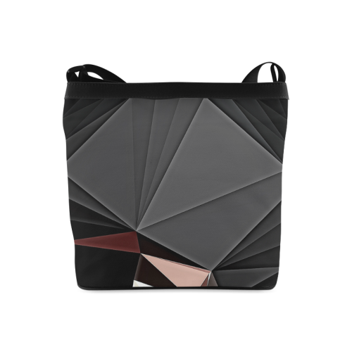 Black Cap 1 Bag Crossbody Bags (Model 1613)