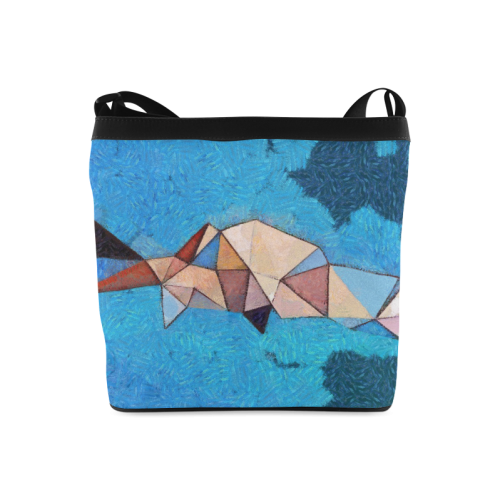 Abstract polygone Bag Crossbody Bags (Model 1613)