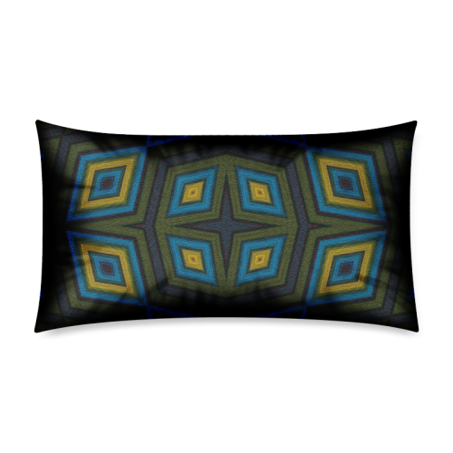 "Ornament 47 Rectangle Pillow Case 20""x36""(Twin Sides)"