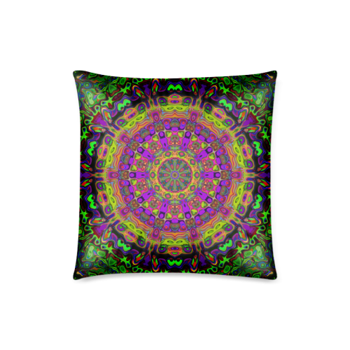 "Ornament 21 Custom Zippered Pillow Case 18""x18""(Twin Sides)"