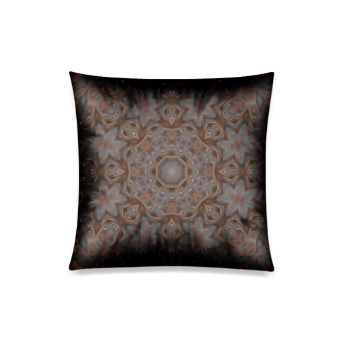 "Ornament 04 Custom Zippered Pillow Case 20""x20""(Twin Sides)"