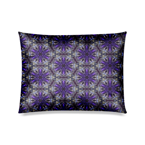 "Decor 21 Custom Zippered Pillow Case 20""x26""(Twin Sides)"