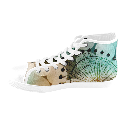 At The Fair Women's High Top Canvas Shoes (Model 002)