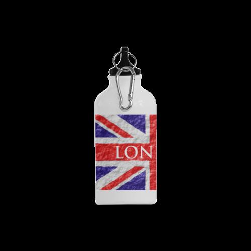 Union Jack Flag Cazorla Sports Bottle(13.5OZ)