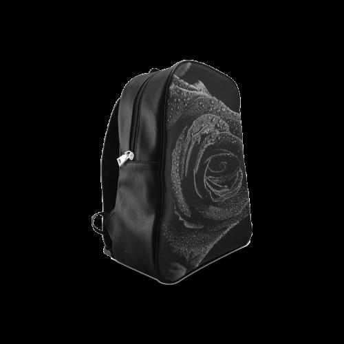 Black Rose School Backpack/Large (Model 1601)