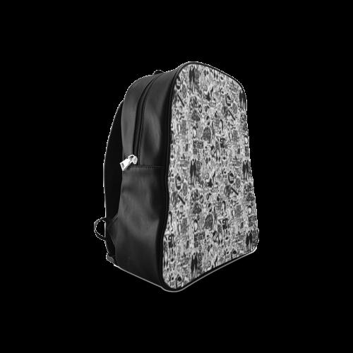 Breaking Bad Stylish Design Customized School Backpack/Large (Model 1601)