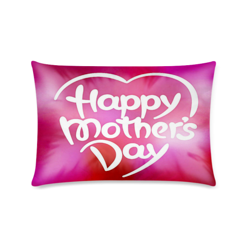 "Colorful Mothers Day Custom Zippered Pillow Cases 16""x24""(Twin Sides)"