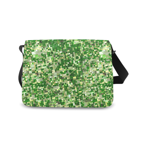Agricultural Landscape Photograph Messenger Bag (Model 1628)