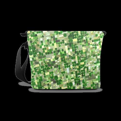 Agricultural Landscape Photograph Crossbody Bag/Large (Model 1631)
