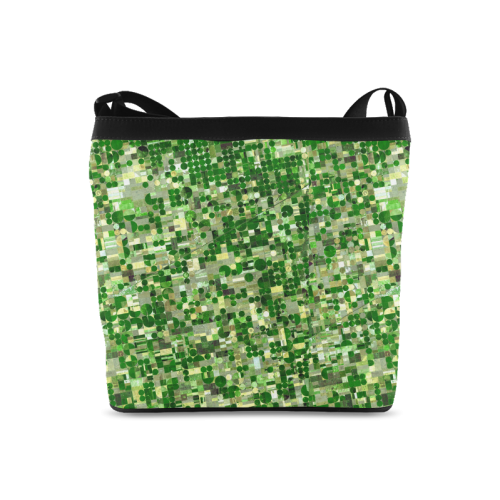 Agricultural Landscape Photograph Crossbody Bags (Model 1613)