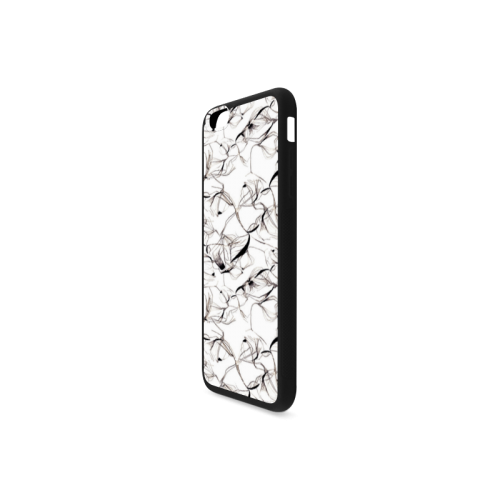 Abstact Pattern Design Custom Artsadd Stylish Rubber Case for iPhone 6/6s Plus