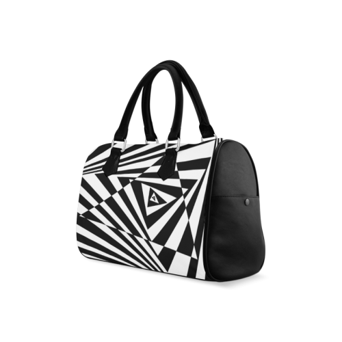 Custom 3D Design Triangle Cool Space Boston Handbag (Model 1621)