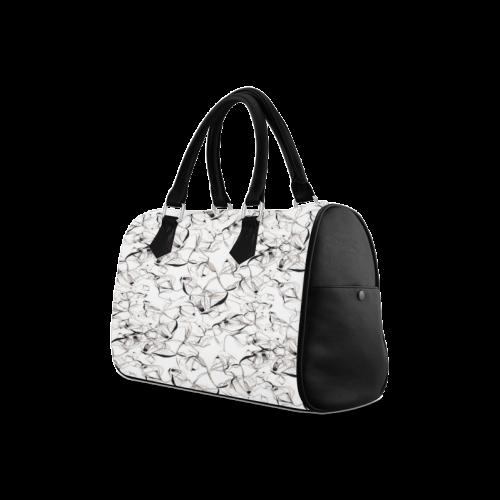 Abstact Pattern Design Custom Artsadd Stylish Boston Handbag (Model 1621)