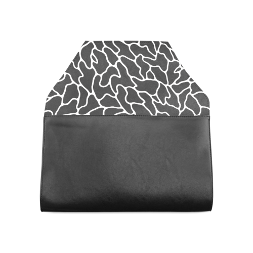 Black and White Leopard Patterns Stylish Design Clutch Bag (Model 1630)