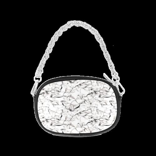 Abstact Pattern Design Custom Artsadd Stylish Chain Purse (Model 1626)