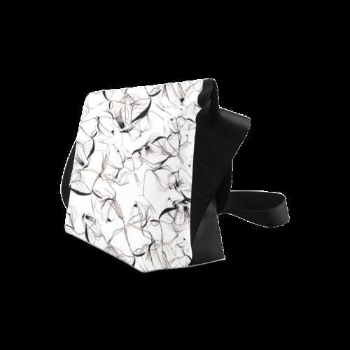 Abstact Pattern Design Custom Artsadd Stylish Crossbody Bag/Large (Model 1631)