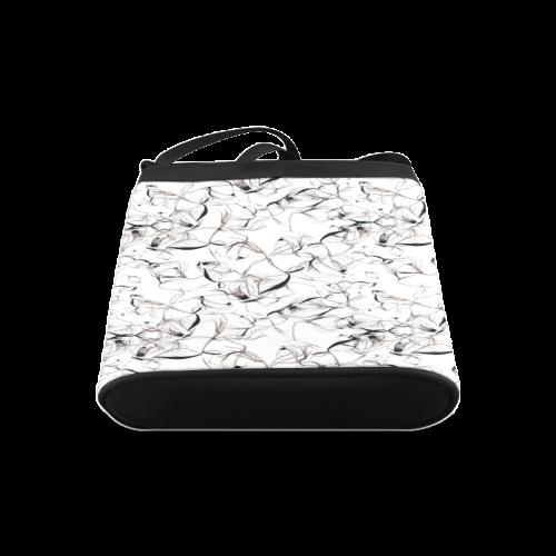 Abstact Pattern Design Custom Artsadd Stylish Crossbody Bags (Model 1613)