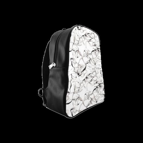 Abstact Pattern Design Custom Artsadd Stylish School Backpack/Large (Model 1601)