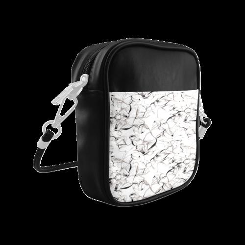 Abstact Pattern Design Custom Artsadd Stylish Sling Bag (Model 1627)