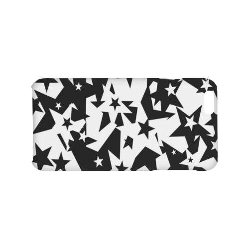 black_and_white_star_by_mythicdragon30 Hard Case for iPhone 6/6s plus