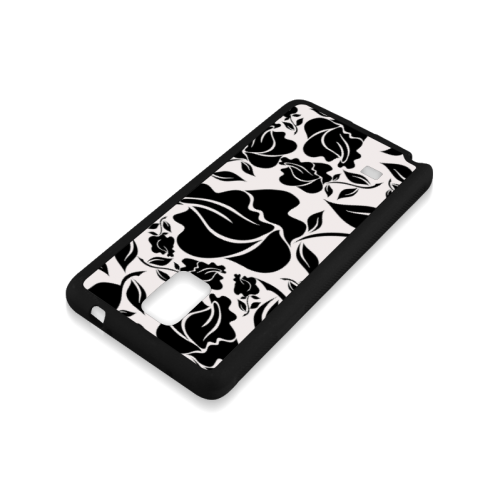 Artsadd Beautiful Design Seamless Vintage Floral P Rubber Case for Samsung Galaxy Note 4
