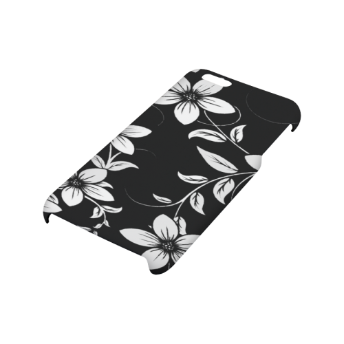Black And White Designs Patterns Flower Hard Case for iPhone 6/6s plus