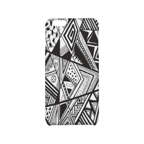 Black And White Vintage Pattern Design Hard Case for iPhone 6/6s plus