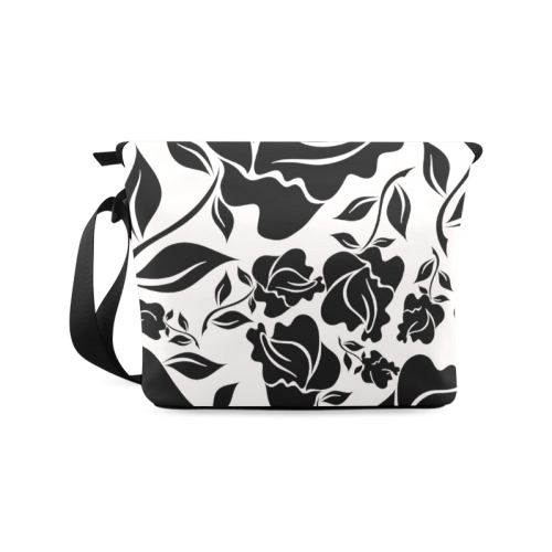 Artsadd Beautiful Design Seamless Vintage Floral P Crossbody Bag/Large (Model 1631)