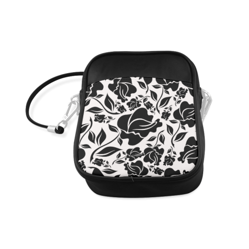 Artsadd Beautiful Design Seamless Vintage Floral P Sling Bag (Model 1627)