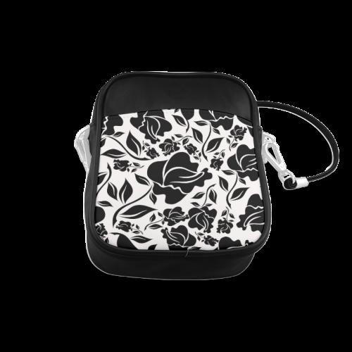 Artsadd Beautiful Design Seamless Vintage Floral P Sling Bag (Model 1627)