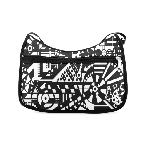 BLACKWHITESHARP Crossbody Bags (Model 1616)