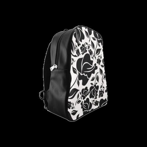 Artsadd Beautiful Design Seamless Vintage Floral P School Backpack/Large (Model 1601)