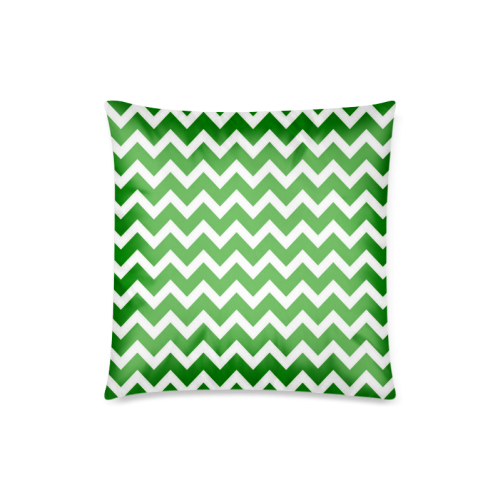 "Chevron classic pattern Custom Zippered Pillow Case 18""x18""(Twin Sides)"