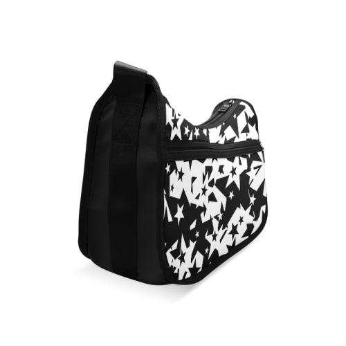 black_and_white_star_by_mythicdragon30 Crossbody Bags (Model 1616)
