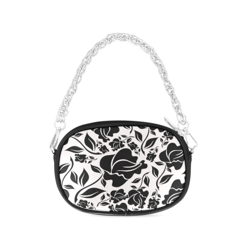 Artsadd Beautiful Design Seamless Vintage Floral P Chain Purse (Model 1626)