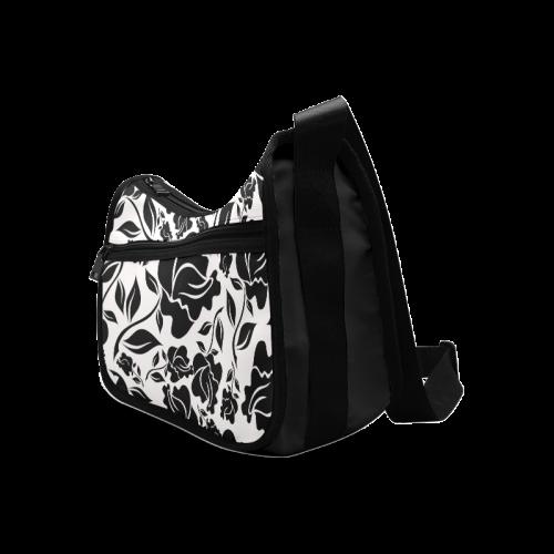 Artsadd Beautiful Design Seamless Vintage Floral P Crossbody Bags (Model 1616)