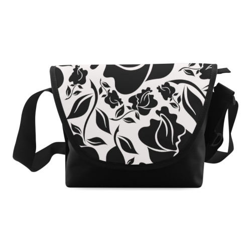 Artsadd Beautiful Design Seamless Vintage Floral P Crossbody Bag/Large (Model 1631)