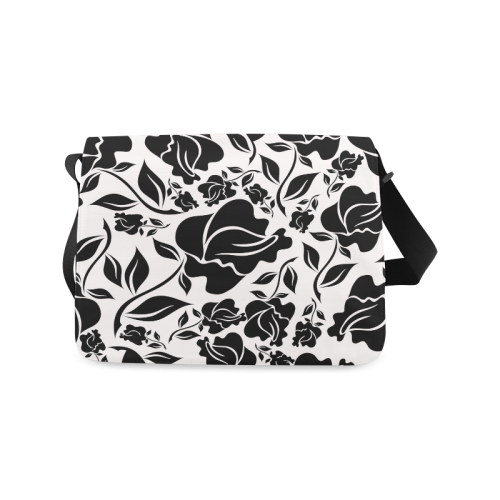 Artsadd Beautiful Design Seamless Vintage Floral P Messenger Bag (Model 1628)