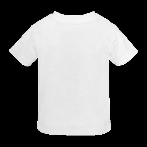Whistling cartoon car. white t-shirt Sunny Youth T-shirt (Model T04)