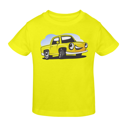 cartoon ca Sunny Youth T-shirt (Model T04)
