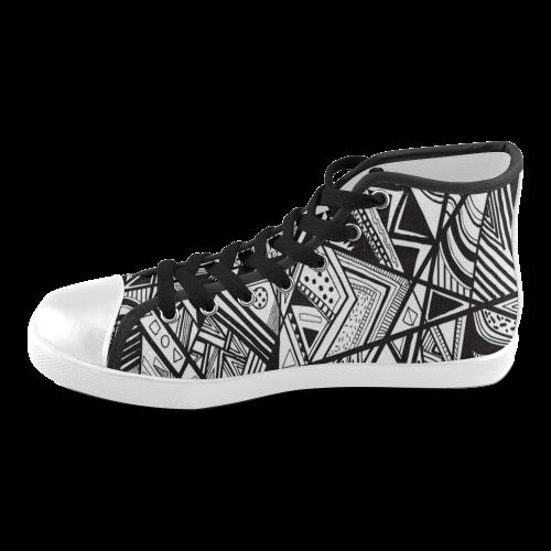 Black And White Vintage Pattern Design