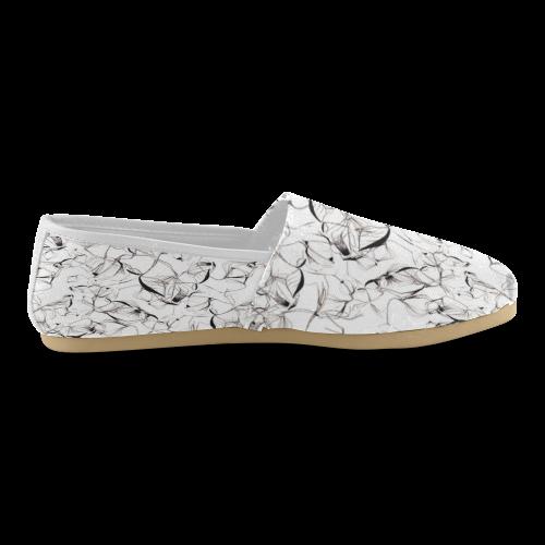 Abstact Pattern Design Custom Artsadd Stylish Women's Casual Shoes (Model 004)