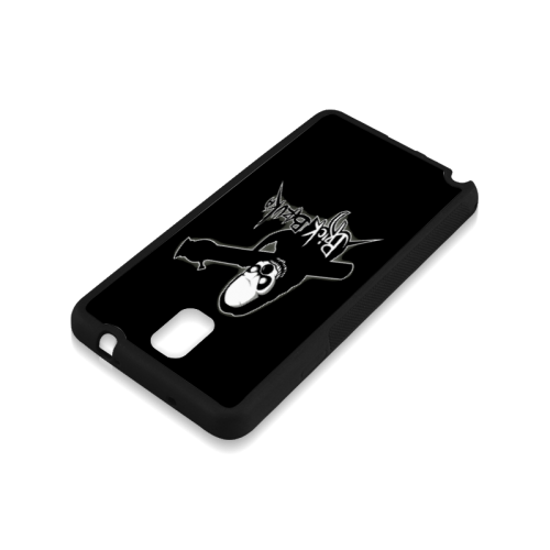 Black Series Custom 6ix Drake Logo Rubber Case for Samsung Galaxy Note 3