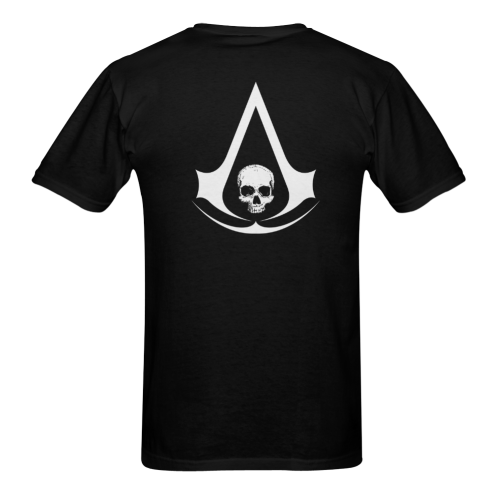 Assassin's Creed 4 Multiplayer Custom The Art Sunny Men's T- shirt (Model T06)