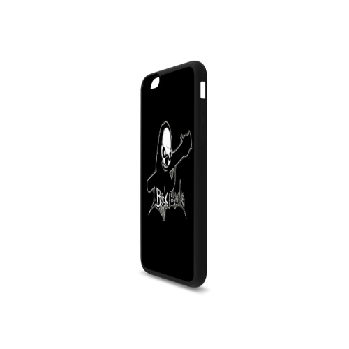 Black Series Custom 6ix Drake Logo Rubber Case for iPhone 6/6s Plus