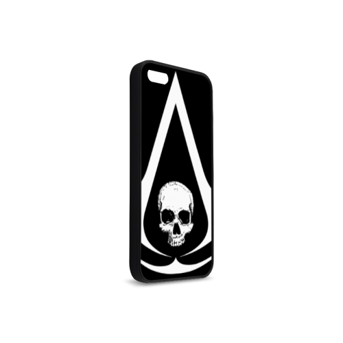Assassin's Creed 4 Multiplayer Custom The Art Rubber Case for iPhone 5/5s