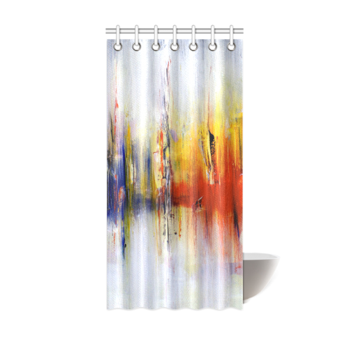 """Abstract Colorful Paintings or Graffiti Design Shower Curtain 36""""x72"""""""
